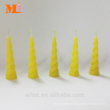 First Class Own Mould Lemon Yellow Unicorn Candle For Cake Wholesale
