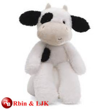 ICTI Audited Factory stuffed black cow toy