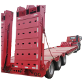 Τρέιλερ Gooseneck Excavator Transport Tri Axle Low Bed