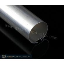 38 mm Aluminium-Kopfschiene mit einer Dicke von 0,5 bis 2,0 mm