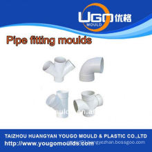 TUV assesment mould factory/Standard size pipe fitting mould in taizhou China