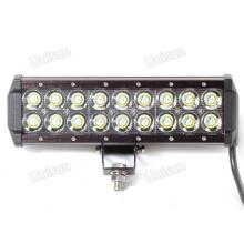 12V 9inch 54W CREE doble fila LED barra de luces LED para coche