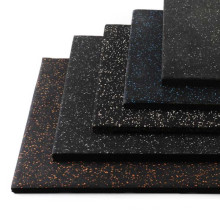 15mm Thick High Density Noise-proof Gym Rubber Flooring With Wholesale Price