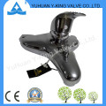 Brass Bathroom Basin Faucet with Deck Mounted (YD-E015)