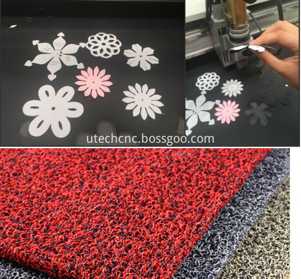 cnc cutting machine for shoes leather