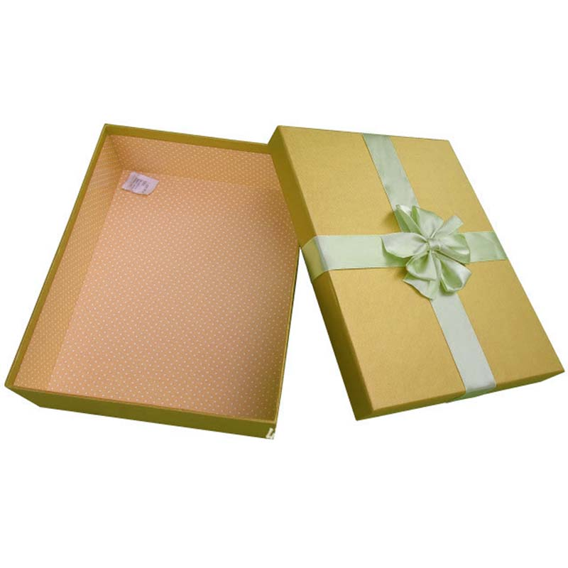 High Grade Dress Color Gift Box