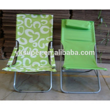2015 Best quality branded folding sun chair with cartoon