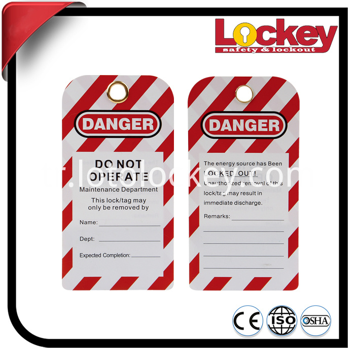 Safety Warning Tags