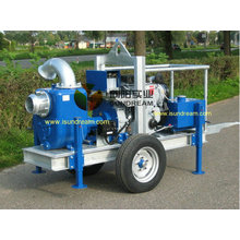 Mobile Trailer Pump 6 Inch