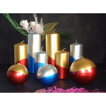 파라핀 유 Unscented Long Burning Christmas Candle