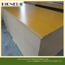 Конкурентоспособная Цена 15мм-18мм доска MDF меламина для мебели украшения