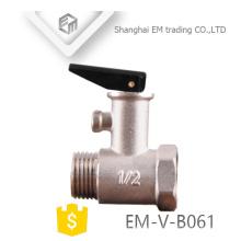 EM-V-B061 soupape de sûreté en laiton électrique de soupape de sûreté de chauffe-eau