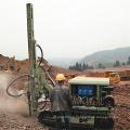 Rock Drilling Rig Drifter Drilling Jumbo Crawler Rock