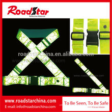 Newest prismatic PVC Reflective Belt for Cycling