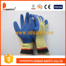 Cut Resistant Glove Blue Latex Dcr311