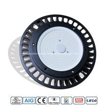 1-10 V 150 W dimerização LED UFO High Bay Light