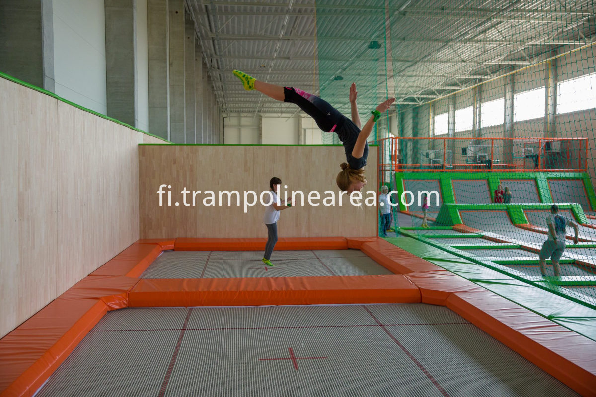 Poland kids indoor trampoline