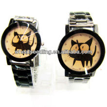Fashion design alloy watch set for couples his and hers gift watch set JW-54