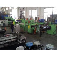 La machine de fente de bobines d'acier froid de certification d'usine de ce prix usine