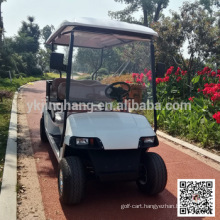 4 passenger gasoline powered Golf sightseeing cart with CE Certification