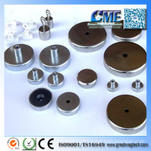 Super Strong Neodymium Pot Magnet