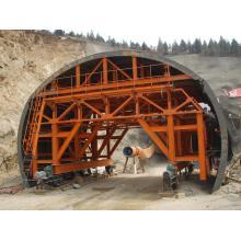 Система опалубки тележек для облицовки железнодорожных туннелей