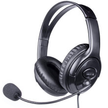 Low price Wired USB headphone with microphone factory supplier