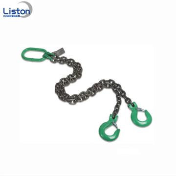Welded G80 Steel 2 Leg Lifting Chain Sling