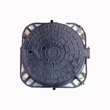 Manhole Covers EN124 B125 Ductile Cast Iron Sand Casting OEM/ODM Available ISO 9001:2008 Quality Management System BSI Kitemark