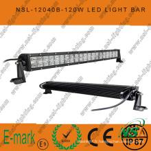 Barre lumineuse LED 40PCS * 3W, barre lumineuse LED 21 pouces 120W, barre lumineuse LED Creee 3W pour camions