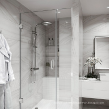 Seawin Floor Pull 3/8 Angle Adjustable Top Bottom Swings Hinges Shower Glass Doors