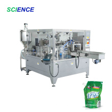Vertical Spout Bag Jelly/Liquid Rotary Packing Machine