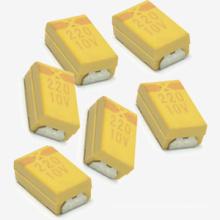 Горячие продажи 220 10В SMD Танталовый конденсатор Tmct02
