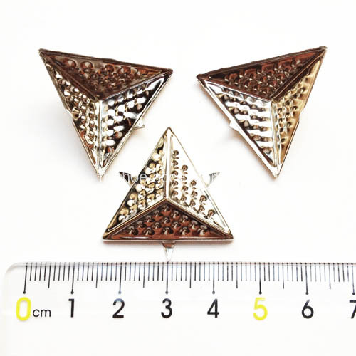 Tige triangulaire tannée 25x25x25mm