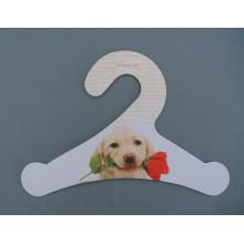Pet de carte papier Fsc respectueux de l'environnement des vêtements en carton imprimé Hanger