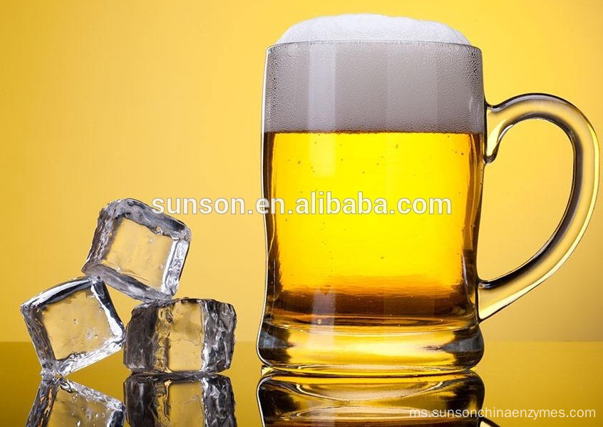 Liquid beta-glucanase enzyme for beer brewing industry