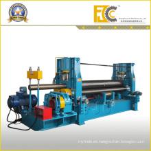 Potente rollo de acero hidráulico de rollo superior que forma la máquina