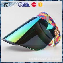 Factory direct sale custom design pvc sun visor cap Fastest delivery