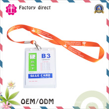 Colorful Polyester Heat Transferred Lanyards ID Badge Holder