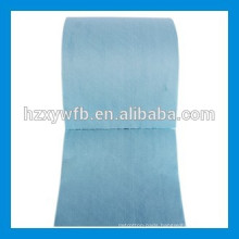 Cross Lapping/Parallel Viscose Polyester Wood Pulp Spunlace Nonwoven Fabric Roll