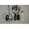Remote control linear actuator for electric bed