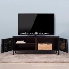 Venda quente online simples design novo modelo de ferro tv stand