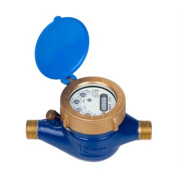 Medidor de água fria selada com líquido multijato