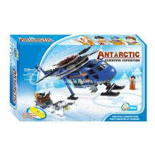 Boutique Baustein Spielzeug-Antarktis Wissenschaftliche Expedition 08 mit 3 Personen