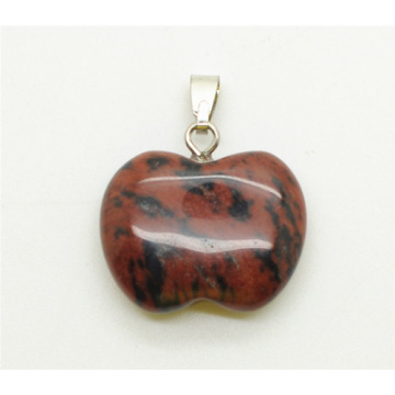 Apple Shape Red Jasper pendant