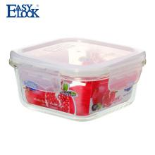 Haushaltswaren Produkte hitzebeständige Mikrowelle Glasbehälter Essen