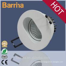 A lâmpada conduzida 7W do teto conduziu o projector claro conduzido 110-240V do downlight com motorista conduzido