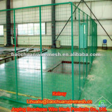 PVC coated welded workshop isolation fence