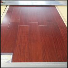 Piso de madera de Sapele sólido de alta calidad