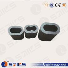 Câble en aluminium ovale de câble de douille de câble DIN3093